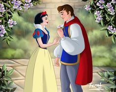 Snow White & Prince Florian by Pedro Lorenzo Disney Princess Costumes, Disney Costumes, Adult Costumes, Disney Princesses, Halloween Costumes, Uhd Wallpaper, Cartoon Wallpaper, Wallpapers, Iphone Wallpaper