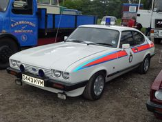 Classic Motors, Classic Cars, Retro Cars, Vintage Cars, Old Police Cars, Police Uniforms, Ford Capri, Emergency Vehicles, Car Ford