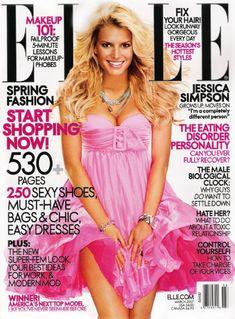 Jessica Simpson - Elle Magazine [United States] (March 2007)