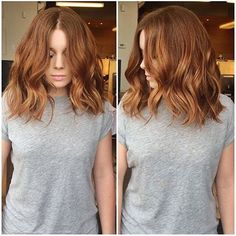 R O N Z E I know summer isn't over yet, but my favorite season is coming. Darker balayages, mochas browns, rich coppers... Are You excited to try the new #Ronze trend? A mixture of copper red and bronze brown. On this beauty I used #Dialight 1/4 6.34 + 3/4 7.43 15Vol throught her #Balayage ✨ #Monpanache #PanachePro #Hairtrends #Hair #allaboutdahair #behindthechair #modernsalon #americansalon