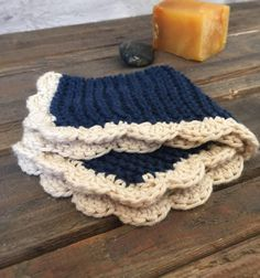 Handmade Knit and Crochet Dishcloth Knit Crochet by roothandcrafts