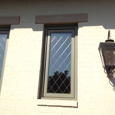 Great Leaded glass look for less!