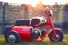 """Melody"" Honda CZ100 sidecar by Dauphine-Lamarck | France"