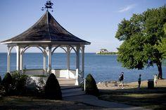 Gazebo at Niagara-on-the-Lake, Ontario.  It's even more breathtaking in person.