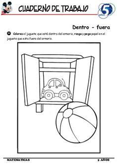 Cuaderno de Trabajo I - 5 Años Matematica Preschool Spanish, Rubrics, Teaching, How To Plan, Projects, Classroom, Fun Kids Activities, Spanish Activities, Speech Pathology