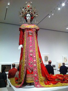 Beaton designed this costume for Birgit Nilsson in the 1961 Metropolitan Opera production of Turandot.