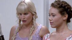 Allie Bertram and Amy Ruffle in Mako Mermaids New Movies, Movies And Tv Shows, H2o Mermaid Tails, Moon Pool, H2o Mermaids, Merman, First Night, Aquarius