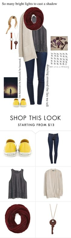 """{the inside of my mind - short story in d}"" by beleg-teleri ❤ liked on Polyvore featuring Miu Miu, Frame Denim, MANGO, Forever 21 and Tsovet"