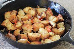 Home Fries - crispy breakfast potatoes!