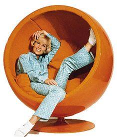 eero aarnio ball chair, 1963