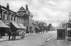 South Street, Ponders End, Enfield, Middlesex. Vintage London, Old London, Ponders End, Enfield Middlesex, Pictures Of You, Fields, Louvre, England, Street View
