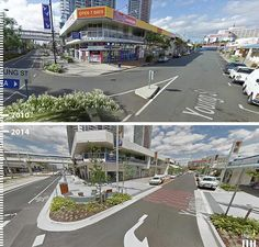 Galeria - Antes/Depois: 30 fotos que mostram que é possível projetar para os pedestres - 16