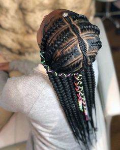 Black Kids Hairstyles with braids, Beads and Other Accessories … - Box Braids Hairstyles Box Braids Hairstyles, Lil Girl Hairstyles, Black Kids Hairstyles, Hairstyles 2016, Short Hairstyles, Short Haircuts, Braided Hairstyles For Black Hair, Female Hairstyles, Amazing Hairstyles