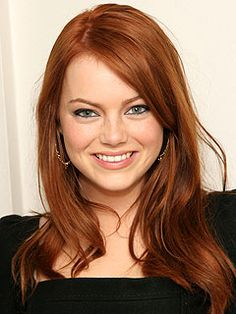 i want her hair color Emma Stone.i want her hair color Fall Hair Colors, Red Hair Color, Color Red, Emma Stone Hair, Copper Red Hair, Natural Red Hair, Red Hair Don't Care, Corte Y Color, Beautiful Redhead