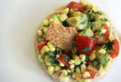 Try this easy, healthy, and colorful appetizer or main dish just in time for Cinco de Mayo! Delicioso!