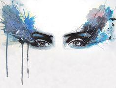 """""""When eyes had tales"""" by Stuart Shields"""