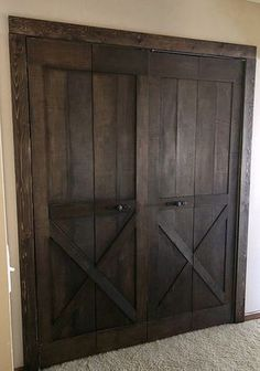 Creating A Barn Door from Bifold Doors - Lemons, Lavender, & Laundry