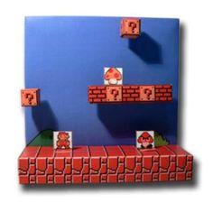 Diorama de Super Mario - Manualidad nivel 1
