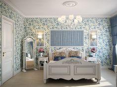 Спальня. Интерьер квартиры в стиле современной классики на Московском пр.
