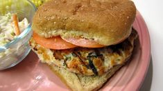 Spinach & Goat Cheese Turkey Burgers