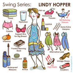 Swing Series: LINDY HOPPER (female version)