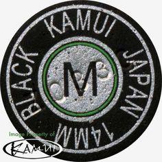 1 Genuine Kamui Black Medium Pool Cue Tip (Medium=M) Free Shipping! #Kamui