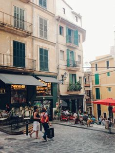 Palma Streets Mallorca Cafe