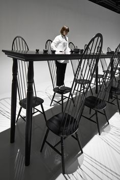 Dining-room-optical-illusion-by-Nendo-3 Dining-room-optical-illusion-by-Nendo-3