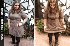 Look do dia: vestido + bota