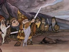 The Hobbit by Rankin Bass.