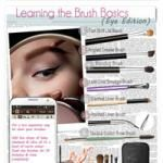 Basic Types of Eye Makeup Brushes and How to Use Them