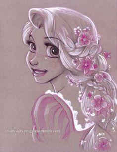 Rapunzel by briannacherrygarcia on @DeviantArt