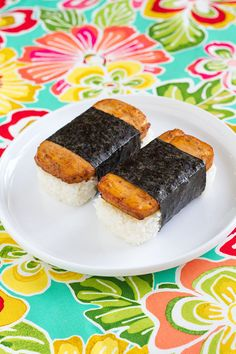 "Tofu ""Spam"" Musubi"