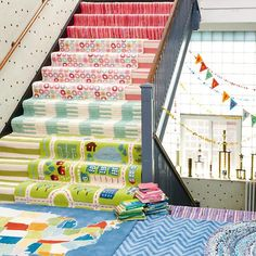 Kids' Rugs: Kids Pink Recycled Cotton Rug   The Land of Nod