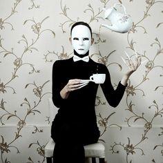 Illusionist I. by Jozef Mician Digital Photography, Creepy, Tea Cups, Batman, Superhero, Fictional Characters, Image, Art, Superheroes
