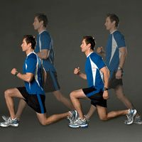Dynamic stretches for pre-run warmup