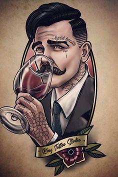 New Ideas Design Tattoo Skull Art Prints Bild Tattoos, Up Tattoos, Body Art Tattoos, Tattoos For Guys, Sleeve Tattoos, Cool Tattoos, Neotraditionelles Tattoo, Tattoo Hals, Tattoo Style