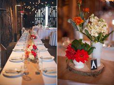 Rustic Dessert Table Wedding: Ethan and Angela