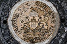 Budapest logo on the street!