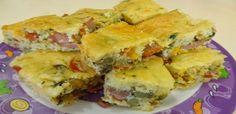 Receita de Torta de salsicha de liquidificador Essa receita e maravilhosa prepare agora mesmo!