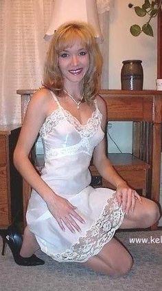 Wearing Slips Lingerie 55