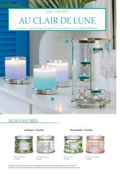Transformez votre maison avec les bougies et parfums d'intérieurs PartyLite du catalogue été. Devenez hotesse une pluie d'avantages vous attendent .