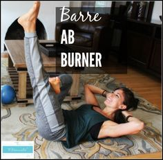 This is a collection of barre workouts that you can use while you're traveling, working out at home, or looking to change things up at the gym. Lots of video workouts here, too! All you need is a mat and a pair of light dumbbells. | At-Home Workouts for Women | The Fitnessista |