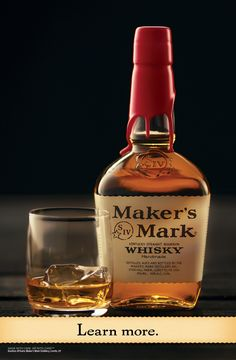Welcome to the home of Maker's Mark. If we could make our Kentucky straight bourbon whisky any faster, we wouldn't. Good Whiskey, Cigars And Whiskey, Scotch Whiskey, Bourbon Whiskey, Whisky, Wine Drinks, Cocktail Drinks, Alcoholic Drinks, Beverages