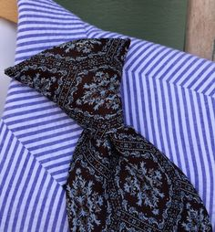Vintage tie, brown black tie, clip on tie,mens tie,hipster,vintage wedding, shabby chic wedding,retro wedding, 60's,70's,mens wedding attire by three20sycamorelane on Etsy https://www.etsy.com/listing/266462473/vintage-tie-brown-black-tie-clip-on