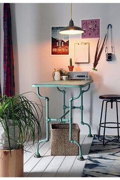 Mechanical Plumbing Pipe Furniture Ideas (15)
