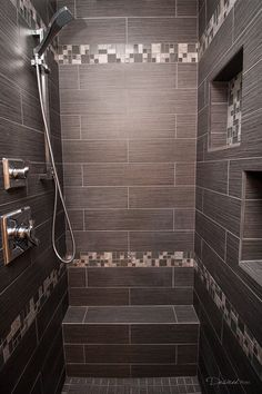 Shower remodel completed by Griffin Construction in Houston, Tx