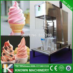 Free shipping supply the 2016 new designed frozen yogurt blending machine / fruit ice cream mixer machine for sale
