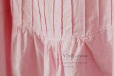 ★성인여성★ 7부소매 핀턱 블라우스 패턴 자료출처http://blog.sina.com.cn/s/blog_6cd5e46c0101dw8e.html