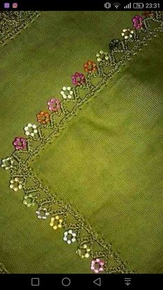 This Pin was discovered by Sev Needle Tatting, Needle Lace, Crochet Borders, Punch Needle, Crochet Designs, Crochet Projects, Diy And Crafts, Embroidery, Stitch